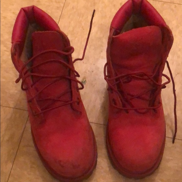 Timberland Shoes | Red Timberlands